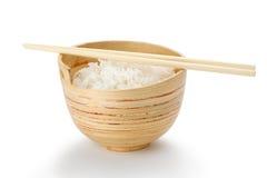 Ciotola di riso puro Immagine Stock Libera da Diritti