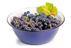 Ciotola di uva fotografia stock