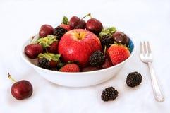 Ciotola fruttata Fotografie Stock Libere da Diritti