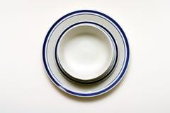 Ciotola, piattino e zolla Fotografia Stock Libera da Diritti