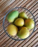 Ciotola in pieno di mango Fotografie Stock Libere da Diritti