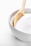 Ciotola riempita di zucchero Fotografia Stock