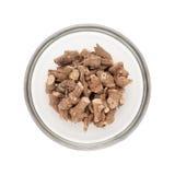 Ciotola riempita metà di Ganthoda organico Immagine Stock