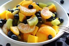 Ciotola sana di frutta fresca immagini stock