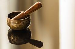 Ciotola tibetana Immagine Stock Libera da Diritti