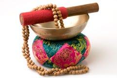 Ciotola tibetana di canto Immagine Stock