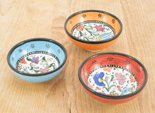 Ciotole ceramiche turche Immagini Stock Libere da Diritti