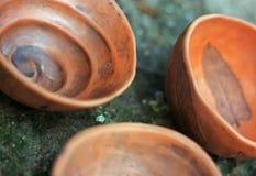 Ciotole dell'argilla Fotografie Stock Libere da Diritti