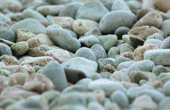 Ciottoli del mare Fotografia Stock