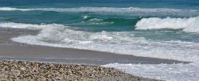 Ciottoli della spiaggia. Fotografia Stock