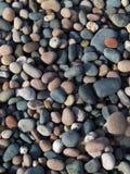 Ciottoli della spiaggia immagini stock
