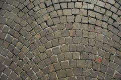 Ciottoli di pavimentazione urbani Fotografie Stock