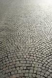 Ciottoli di pavimentazione urbani Fotografia Stock Libera da Diritti