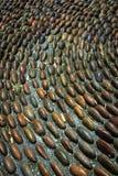 Ciottoli di reflessologia del piede Immagine Stock