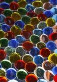 Ciottoli di vetro variopinti Fotografia Stock Libera da Diritti