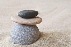 Ciottoli di zen Immagini Stock Libere da Diritti