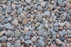 Ciottoli e rocce Fotografia Stock