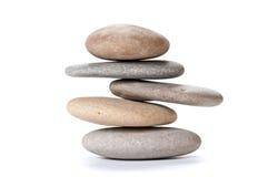 Ciottoli equilibrati Immagine Stock