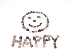 Ciottoli felici Immagine Stock Libera da Diritti