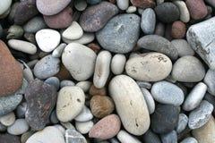 Ciottoli lisci sulla spiaggia Immagini Stock Libere da Diritti