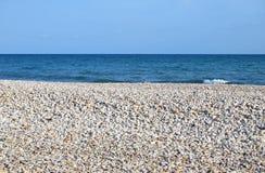 Ciottoli nella spiaggia Immagine Stock