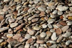 Ciottoli su una spiaggia Immagine Stock Libera da Diritti