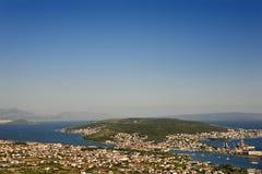 ciovo海岛 免版税库存照片