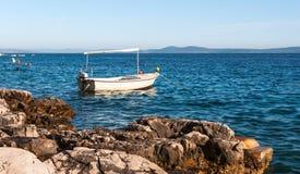Ciovo ökust, Kroatien Fotografering för Bildbyråer