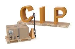CIP concept Stock Photo