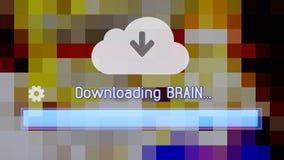 Cipher σύννεφων μεταφορτώνει τον εγκέφαλο ελεύθερη απεικόνιση δικαιώματος