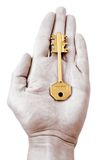 Cipher key. To furnish the clue to smth Royalty Free Stock Image