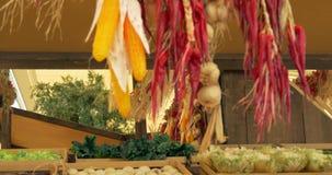 Cipolla Chili Corn Close Up archivi video