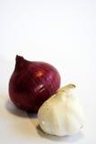 Cipolla ed aglio Immagini Stock Libere da Diritti