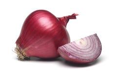 Cipolla rossa Fotografia Stock