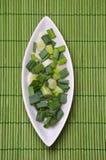 Cipolla verde Fotografia Stock Libera da Diritti