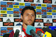 ciprian足球运动员marica罗马尼亚语 库存照片
