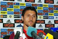 Ciprian Marica, calciatore rumeno Fotografia Stock
