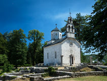The Cipur church. Cetinje, Montenegro Royalty Free Stock Photography