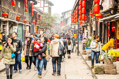Ciqikou Ancient Town Chongqing China Royalty Free Stock Image