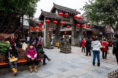 Ciqikou Ancient Town Stock Images