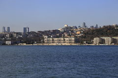 Ciragan宫殿,伊斯坦布尔 库存图片