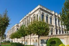 Ciragan宫殿,伊斯坦布尔 免版税图库摄影