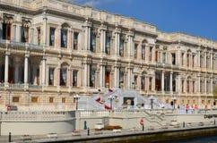 ciragan宫殿 免版税库存图片