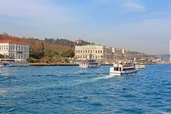 ciragan сделанный дворец pp istanbul hdr сумрака принятый индюка стоковое фото