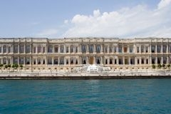 Ciragan palace hotel Royalty Free Stock Image
