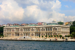 Ciragan Palace in Istanbul Stock Images