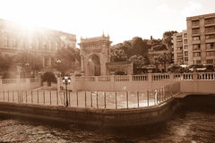 Ciragan Palace, Istanbul Stock Photo