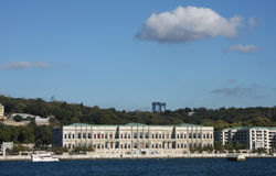 Ciragan Palace, Istanbul. Royalty Free Stock Photo