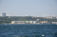 Ciragan Palace in Istanbul Stock Photo
