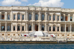 Ciragan Palace, Istanbul Royalty Free Stock Photography